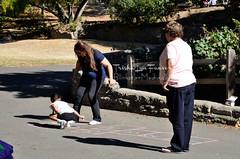 MaryFlores90th-082 (TrishaLyn) Tags: california people kids games richmond hopscotch wildcatcanyonregionalpark alvaradopark