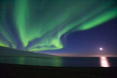 Beaufort Sea/ Arctic Ocean (jonnnk) Tags: sunset alaska unitedstates 2006 arctic icebergs northernlights auroraborealis sept17 arcticocean arcticnationalwildliferefuge beaufortsea