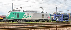 [FR-SNCF] BB 27011M (dpt de Thionville) remonte une rame de porte-autos pour le compte d'Opel 2015/09/12 (yael.flament1) Tags: france prima bb freight sncf fert 27011 27000 bb27000 bb27011