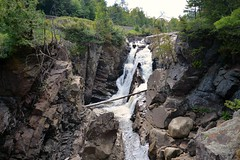 Waterfall Ausable River (Explore) (Don Mosher Photography) Tags: