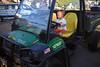 Four wheeling toddler