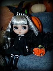 Morticia the Little Bat Girl