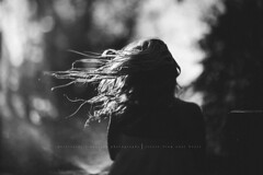 Sprinkler on a windy day!!!!!! (privizzinis passion photography) Tags: summer people blackandwhite girl monochrome childhood hair children outside outdoors child wind outdoor surreal depthoffield