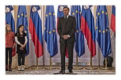 The_President (alamond) Tags: canon republic flag president eu reception slovenia 7d ljubljana l usm ef f4 europeanunion 1740 mkii markii brane llens alamond pahor zalar borutpahor