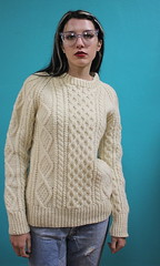 Aran wool sweater (Mytwist) Tags: irish woman white sexy heritage classic wool fashion lady female vintage cozy sweater fisherman women girlfriend warm ebay weekend cream ivory craft style s retro jeans passion wife casual knitted mistress honeycomb submission aran arran timeless pullover authentic handcraft hattrick handknitted wolle sweatergirl knitwear cabled vtg webfound ecry aransweater handgestrickt mytwist aranjumper aranstyle