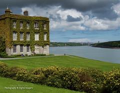 THE HOUSE & MENAI STRAIT (David~Preston) Tags: uk house northwales menaistrait plasnewydd isleofanglesey britanniabridge