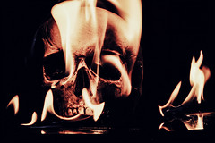 When the Bombs fall (DarrenBaileyLRPS) Tags: art darren dark creativity fire photography skull war artist creative photographic photographicart darkbackground creativeartwork darkarts darrenbailey creativeartnetwork darrenbaileyart photographiccreation