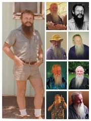Portraits of Paul, Darwin & Maleny (peculiarhand) Tags: australia darwin maleny northernterritory pwa paullawler seqld woodfordff