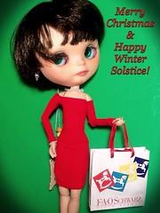 Blythe-a-Day December #21 Solstice: NYLAH