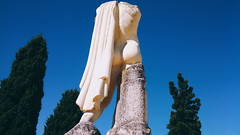 Solid Posterior (laurenspies) Tags: ass statue andaluca spain ruins cape trajan santiponce itlica