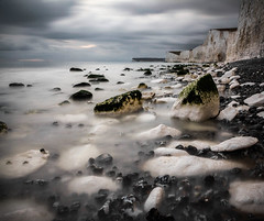 Silky Water (robertoverton1) Tags: burlinggap longexposure longexposurephotography landscape coast southeast southcoast pebbles canon contrast beautiful silky neutraldensity nature sea sky water cliffs colour kent dramatic beach view