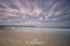 Life moves pretty fast. If you don't stop and look around once in a while, you could miss it. (Emily_Endean_Photography) Tags: boscombe bour bournemouth pier sunrise longexposure beach ocean sea seascape seaside clouds movement lee leefilters nikon