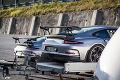 seeing double (iampepa) Tags: 151016 club porsche remsjagst salzburgring carporn cars trackaddict plainfeld salzburg at gt3rs gt3 sterreich 991 911 rennsport racetrack gt3rsflatsix gt silber gtsilber