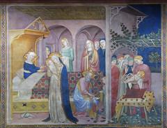 Salimbeni - Birth & Circumcision of John the Baptist (petrus.agricola) Tags: lorenzo jacopo salimbeni scenes life saint john baptist urbino marche italy oratorio san giovanni battista