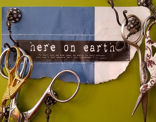 "On my #scissors board...  here on earth... ""I tell you we are here on earth to fart around. And, don't let anyone tell you different"".   kurt vonnegut  #kurtvonnegut #fartaround"