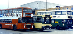 Slide 077-92 (Steve Guess) Tags: newport gwent monmothshire wales gb uk scania wadhamstriner vanguard mcw metrobus bristol vrt ecw national welsh bus nct corporation transport