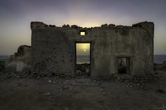 Sunset - Al Shamal Qatar (zai Qtr) Tags: sunset qatar wall zaiqtr sea nature haritage abandoned al jamail shamaal doha aamir nikon tokina