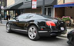 Bentley Continental GT W12 (SPV Automotive) Tags: bentley continental gt w12 coupe exotic sports car black