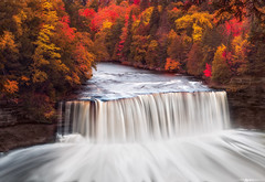 Dream Falls (Matt Anderson Photography) Tags: waterfall michigan tahquamenonfalls autumn beautyinnature change colorimage day flowingwater horizontal motion nopeople outdoors photography plant saultstemarie tranquility usa river idyllic longexposure lushfoliage sky statepark tree ruralscene direction forest landscape leaf midwest multicolored northamerica scenics season upperpeninsula water exposure nature people ontonagonriver reflection rippled speed park sunset tranquilscene marie 2016 fall lakesuperior mattanderson seasonal upper cascades rockonota alger swirls eddy pattern