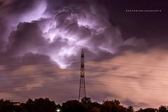 Tempesta di fulmini (Di Caudo Antonio) Tags: temporale tempesta thestorm thunderstorm nuvole fulmini fulmininuvole