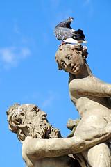 Poland-00551 - Fountain of Proserpina (archer10 (Dennis) 85M Views) Tags: poland poznan building sony a6300 ilce6300 18200mm 1650mm mirrorless free freepicture archer10 dennis jarvis dennisgjarvis dennisjarvis iamcanadian novascotia canada oldmarketsquare fountain proserpina globus tour fountainofproserpina pigeon