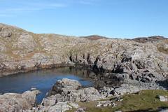 Achmelvich, Scottish Highlands, 10th October 2016 (RAB19803) (Homestyal) Tags: hermit hermitscastle achmelvich
