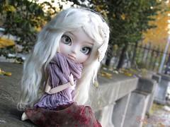 Boho Girl (Little Queen Gaou) Tags: nanachan bohemian boho inspiration girl autumn automne fall day garden place pullip doll groove