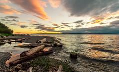 Seattle diaries (Rinathq) Tags: sunset summer 2016 beach usa seattle cloud landscape lowlighter nikon d7200 tokina colors