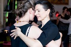 Agnès and Marie, La Tangueria, Brussels, April 2016