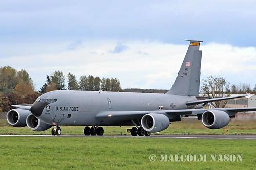 BOEING KC135R 57-1441 USAF IOWA ANG