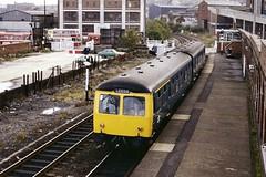 British Rail Class 105 dmu Barnsley