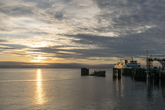 _DSC3130 (marilynwe) Tags: 2016 edmonds washington ferrylanding kingston sunrise water ferry