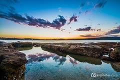 Natural Pool (silardtoth) Tags: water australia sydney aspect 23 bay blue city coast exposure harbour horizon landscape long nature new south wales nsw rocks sea seascape skyline stones sunset travel vacation