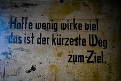 WW2 - German Motivational (Limfjordsporter & Shrimps) Tags: ww2 world war 2 weltkrieg krieg german deutsch motivational atlantic wall atlantik nordsee bunker northsea history geschichte atlantikwall handwriting nationalpark thy