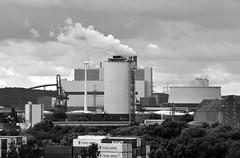 Industrie / Industrie (Andreas Meese) Tags: hamburg hafen wilhelmsburg nikon d5100 regen rain rainy regentag industry industrie wolken clouds wolkig cloudy kraftwerk moorburg