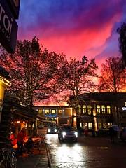 Pink sky (rafareceputi) Tags: pinksky sky iphonephoto skyen norway oslo