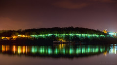 We pray for one last landing (OR_U) Tags: 2016 oru uk wales anglesea bangor snowdonia night mountains nightlights robertaheinlein green reflection menaistrait