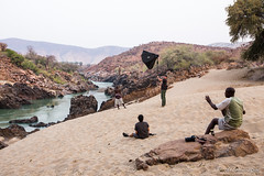 Chaos on the Shore 8902 (Ursula in Aus) Tags: africa namibia portrait himba male