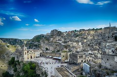 matera hdr (ecordaphoto) Tags: matera city italia italy nikon d5100 x basilicata lucania hdr panorama