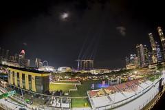 Singapore on F1 mood (rjoseluis12015) Tags: singapore singapur night lights f1 race cars black laser 2016 canon eos 6d