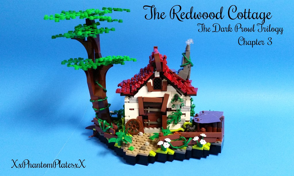 cbc 2015 the redwood cottage ns lego designs tags door - Painted Wood Castle 2015