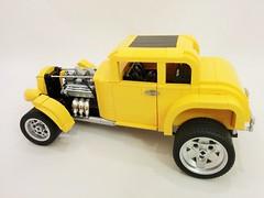 32 ford side (Brick Flag) Tags: ford 1955 car 1932 model automobile milner lego chevy coupe deuce georgelucas moc cheverolet americangraffiti falfa thx138
