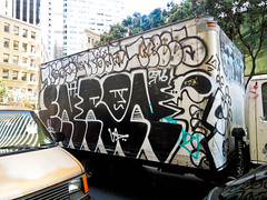 (gordon gekkoh) Tags: sanfrancisco truck graffiti nr enron