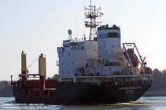ZAMOSKVORECHYE (9077587) (005-10.02.2013) (HWDKI) Tags: ship vessel schiff imo zamoskvorechye kielcanal frachter sehestedt delfs generalcargoship 9077587 hanswilhelmdelfs