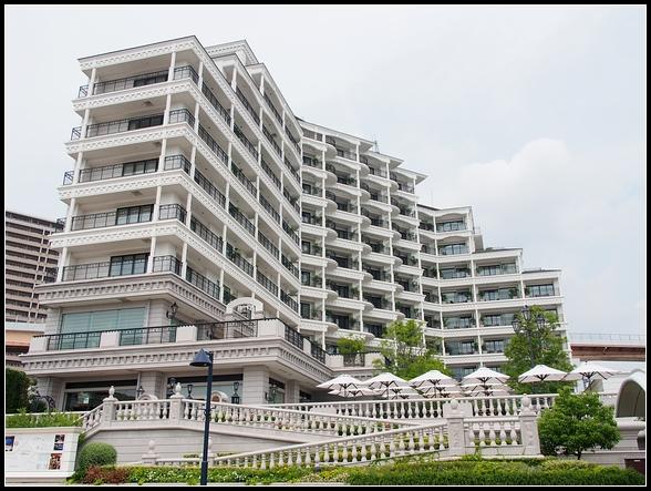 神戶飯店推薦 ▍神戶港口套房飯店 (Hotel La Suite Kobe Harborland)