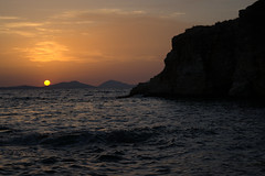 Morski sumrak (marija.njegomir) Tags: sunset sea water landscape seaside dusk greece sivota syvota