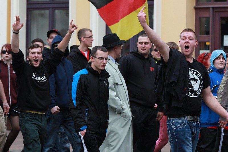 Anti-Asyl-Demo Schwerin 27