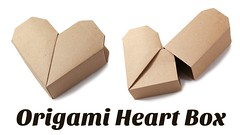 Origami Heart Box Instructions (paperkawaii) Tags: diy video origami instructions how tutorial papercraft youtube paperkawaii