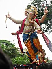 Chandanwadi Ganesh 2015 - Mumbai (Rahul_shah) Tags: ganesh mumbai raja ganpati chowpatty lalbaug ganeshutsav girgaon