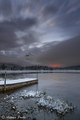 Vermilion Lake (Antonio Puche) Tags: canada sunrise landscape nikon paisaje amanecer alberta banff vermilionlake nikon173528 nikond800 antoniopuche
